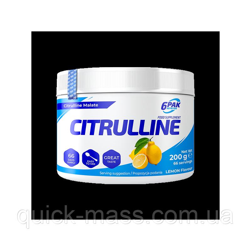Цитруллин 6PAK Nutrition Citrulline 200g
