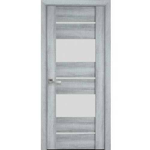Дверное полотно Аскона (стекло сатин) бук кашемир