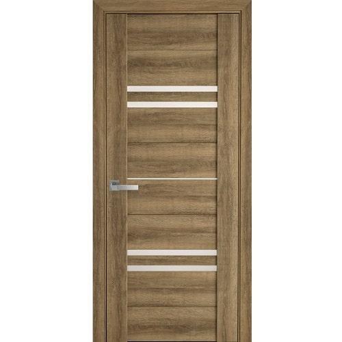 Дверное полотно Мерида (стекло сатин) бук шато