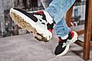 Кроссовки женские 15443, Nike React, черные, [ 37 38 39 40 ] р. 37-23,0см., фото 5