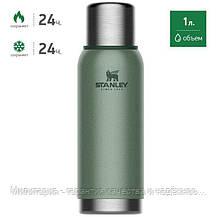 Термос STANLEY зеленый Adventure 1 L (10-01570-020), фото 2