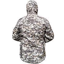 Тактическая куртка Soft Shell ESDY A001 Pixel L мужская влагозащищенная ветрозащитная ветровка камуфляж, фото 2