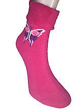 Шкарпетки жіночі махра Tommy відворот метелик