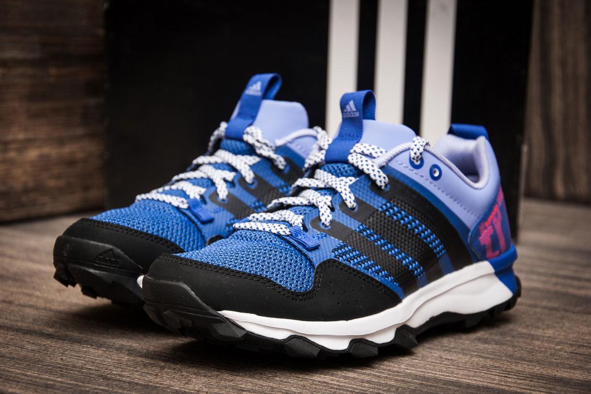 Кроссовки женские 70650, Adidas Kanadia 7 TR  ( 100% оригинал  ), синие, [ 36,5 ] р. 36,5-5=23,5см.