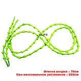 Шнурки для обуви с узелками эластичные 2Life Зеленый (n-518), фото 3