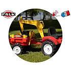 Детский педальный трактор с прицепом и 2 ковшами Falk 2051CN RANCH для дітей, фото 3