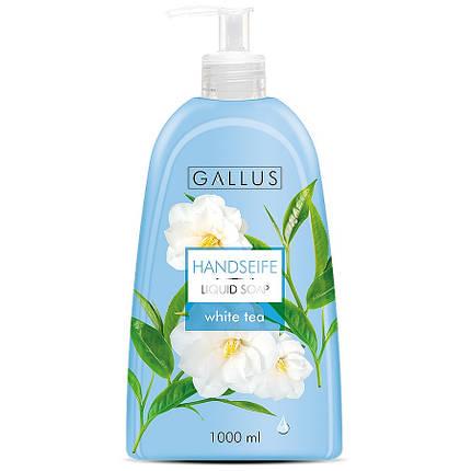 Жидкое мыло GALLUS 1л (белый чай), фото 2