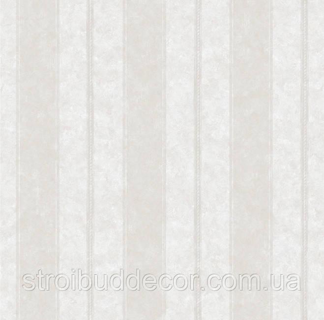 Обои плотные бумажные  0,53*10,05 Эко полоса светлая