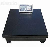 Электронные платформенные весы OXI 600 кг усиленные 800*600мм