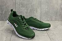 Мужские кроссовки текстильные летние зеленые Classica G 5104 -2