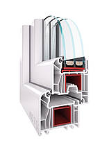 Вікна металопластикові WDS 7 S