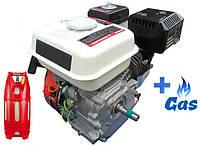 Бензо-газовый двигатель IRON ANGEL Favorite 212-T LPG