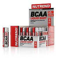 BCAA аминокислоты Nutrend BCAA Liquid Shot 20x60 мл, фото 1