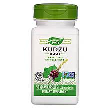 """Корень кудзу Nature's Way """"Kudzu Root"""" пуэрария дольчатая, 1226 мг (50 капсул)"""