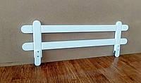"""Белый защитный бортик для детской кровати """"Масу"""""""