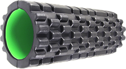 Роллер масажный Power System Fitness Foam Roller PS-4050 Black/Green