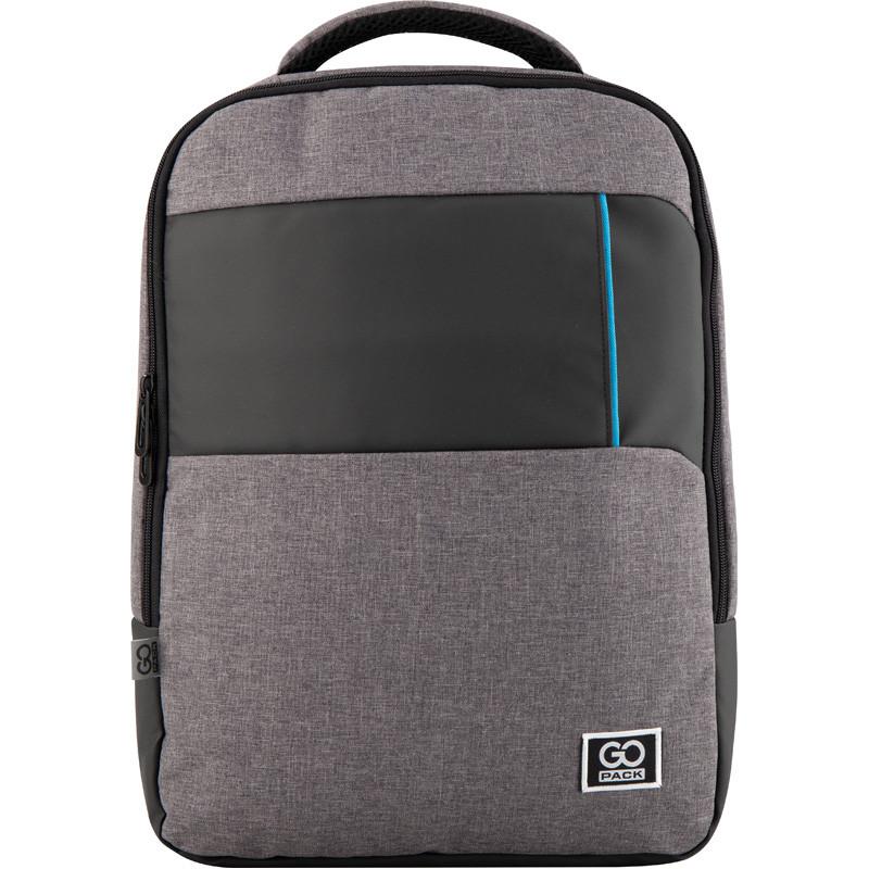 Рюкзак GoPack Сity 153-1 сірий