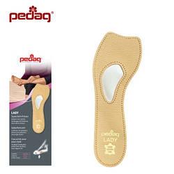 Ортопедическая мягкая полустелька для закрытой модельной обуви на каблуке LADY, арт 121