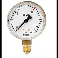 WIKA Манометри для зварки ISO 5171 40мм.
