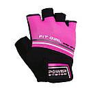 Перчатки для фитнеса и тяжелой атлетики Power System Fit Girl Evo PS-2920 Pink XS, фото 4