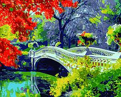 Картина по номерам Дыхание осени, 40x50 см., Домашнее искусство
