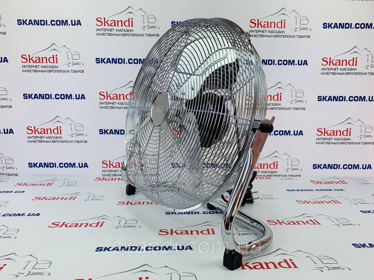 Вентилятор металический напольный  Clatronic Ø45см (Оригинал) Германия 100W