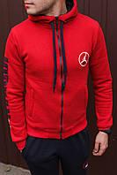 Спортивный костюм мужской весенний красный в стиле Jordan. Кофта + штаны. Спортивний костюм чоловічий