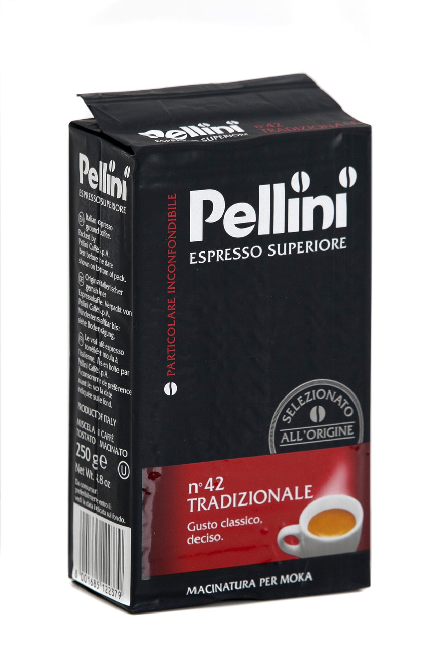 Кава мелена з Італії Pellini Espresso Superiore n.42 Tradizionale 250г.