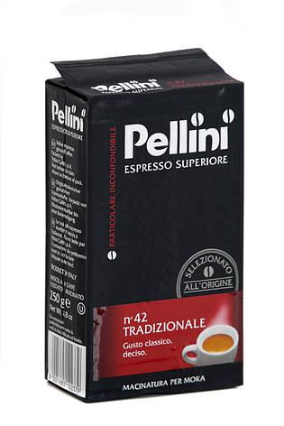Кава мелена з Італії Pellini Espresso Superiore n.42 Tradizionale 250г., фото 2