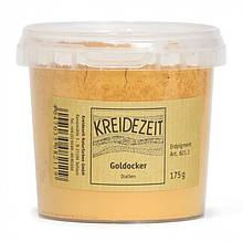 Натуральный пигмент, Охра золотистая/итальянская, Goldocker, Italien Pigmente, Kreidezeit, 100 грамм