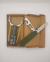 Набор EDC (нож Fuerzas Armada + рогатка тактическая)