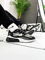 Мужские летние кроссовки Nike Air Max 270 React Optical (реплика), фото 1