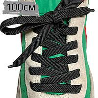 Шнурки для обуви РЕЗИНА 100см плоские, эластичные шнурки, фото 1