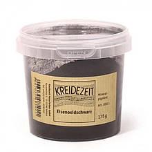 Натуральный пигмент, Черный Оксид Железа, Eisenoxidschwarz, Pigmente, Kreidezeit, 100 грамм
