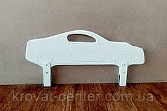 """Защитный барьер в белых оттенках """"Машинка"""" 90 см., фото 3"""