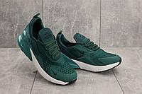 Мужские кроссовки текстильные весна/осень зеленые Aoka B 1122 -10