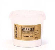 Натуральный пигмент, Титановое белило Рутил, Titanweib Rutil, Pigmente, Kreidezeit