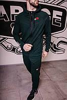 Спортивный костюм мужской весенний зеленый в стиле Iceman. Кофта + штаны. Спортивний костюм чоловічий