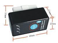 Bluetooth OBD2 ELM 327  V2.1 с кнопкой адаптер диагностики
