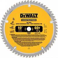 Пильный диск 254 мм с тонким пропилом DeWALT DW3106 (DW3106)