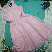 Платье жен. Bonprix Рост 164 полиэстер розовый