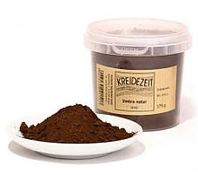 Натуральный пигмент, Умбра натуральная, Umbra natur, Pigmente, Kreidezeit, 100 грамм
