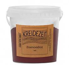 Натуральный пигмент, Оксид Железа красный, Eisenoxidrot 180, Pigmente, Kreidezeit, 100 грамм