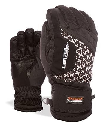Гірськолижні жіночі рукавички Level Alpine W pk White | розмір - 7 (S)