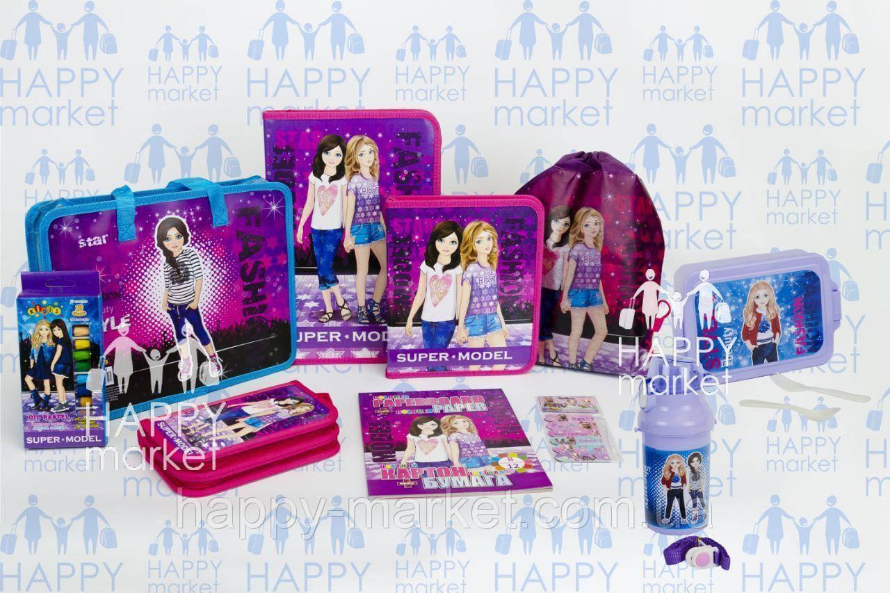 Подарочный набор для выпускника детского сада  Стильные девочки  №5-4