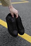 Кросівки Adidas Stan Smith Black, фото 3
