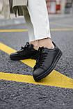 Кросівки Adidas Stan Smith Black, фото 4