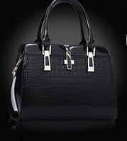 Женская стильная лаковая сумка. Модель 449, фото 4