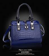 Женская стильная лаковая сумка. Модель 449, фото 6