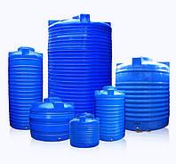 Емкости пластиковые вертикальные двухслойные и однослойные 1000 литров